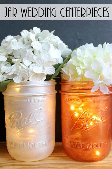jar centerpieces jar wedding centerpieces favecrafts