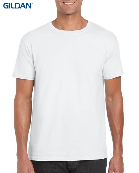 Tshirt Baju Kaos Crew t shirts gildan mens lightweight 150gm 100 cotton cn t