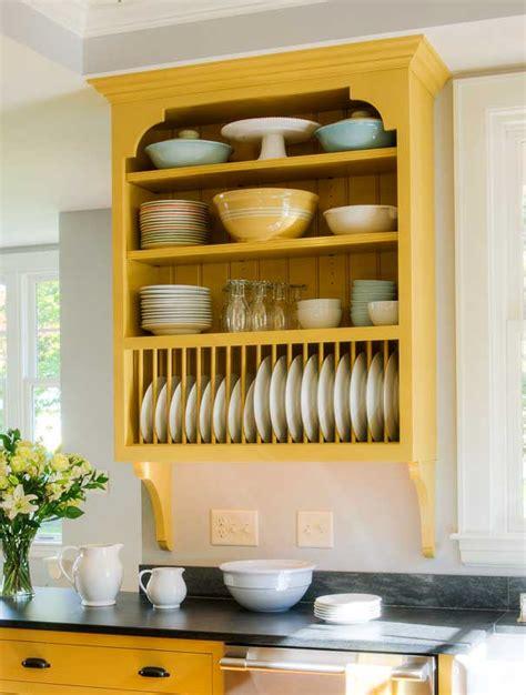 Plate Rack Kitchen Cabinet Decor Open Shelves Kitchens Ideas Plates Racks Racks Wood House Wall Plates Open Shelving