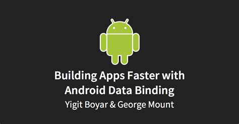 android data binding android data binding