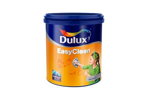 Clear Pelapis Cat haneutmoyan katalog warna dulux easyclean 2017