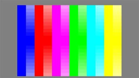 test colori av magazine dvd test pag 6 colore saturazione e