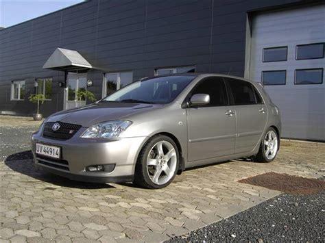 Toyota Corolla T Sport 2002 Toyota Corolla 1 8 T Sport Solgt 2002 Bilen Er K 248 Bt