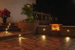 Patio With Lights Truly Innovative Garden Step Lighting Ideas Garden Club