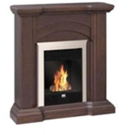 emberglow gas vent free fireplace with mantel from home