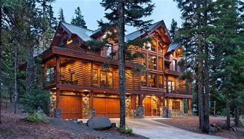 one day epic log home if i had millions