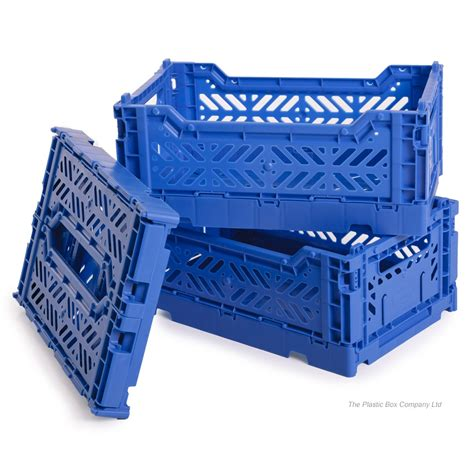 plastic crate buy small plastic folding collapsible crate storage box basket