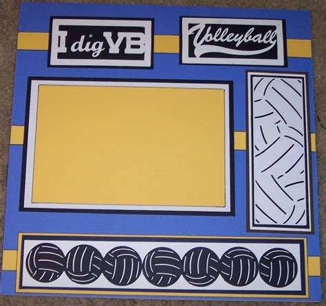 scrapbook layout ideas for volleyball 72 best images about volleyball layouts on pinterest