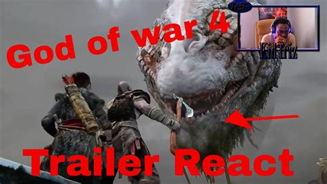 god of war film trailer deutsch god of war 4 trailer reaction youtube
