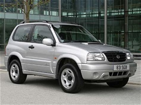 Suzuki Vitara Reliability Suzuki Grand Vitara 1998 2005 Car Reliability Index