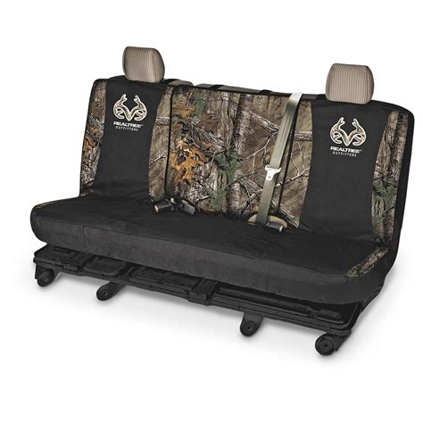 universal bench seat cover universal switch back camo bench seat cover 653101 seat