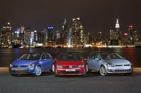 volkswagen golf family  named motor trend  car   year