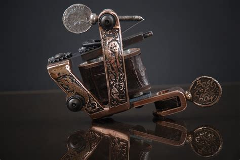tattoo machine wallpaper hd bronze tattoo machine by skindiggers on deviantart