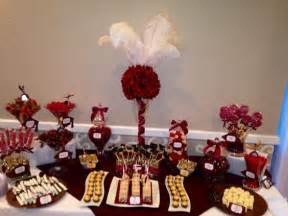maroon and white graduation decorations maroon white and gold graduation buffet table