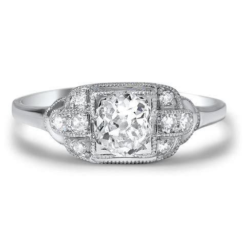 deco engagement rings brilliant earth