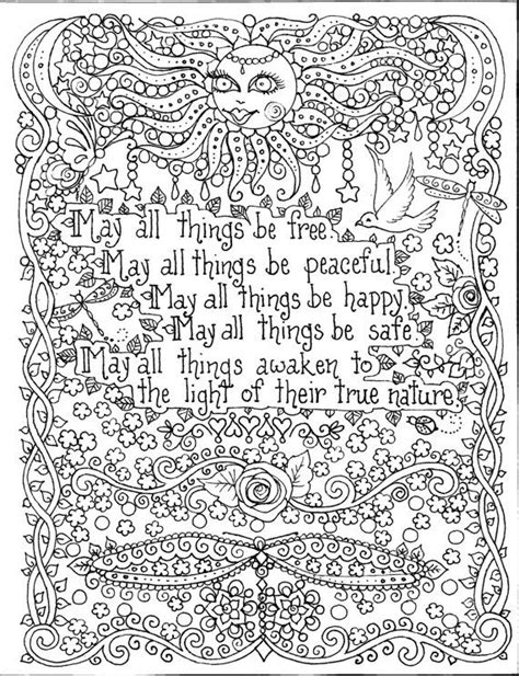 mandala coloring book with quotes coloring pages picmia