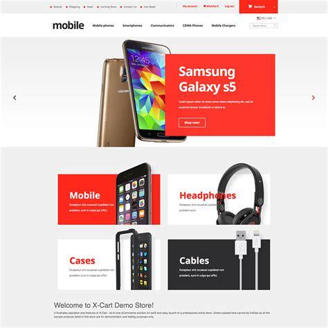 Mobile Phones X Cart Template 63665 X Cart Templates