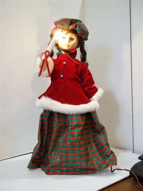 motionettes of christmas vintage motionette illuminated animated display arts 24 quot ebay