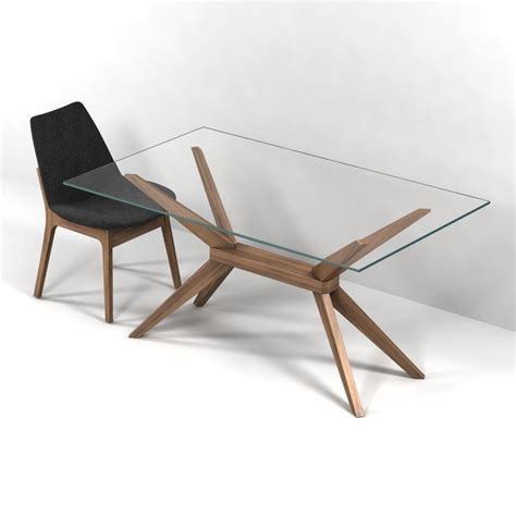 max dining table magna glass dining table by inmod sohoconcept eiffel wood