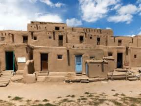 adobe houses pueblo de taos world heritage site national geographic