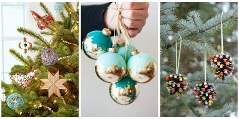 how to make home made christmas decorations best easy homemade diy christmas ornaments ideas