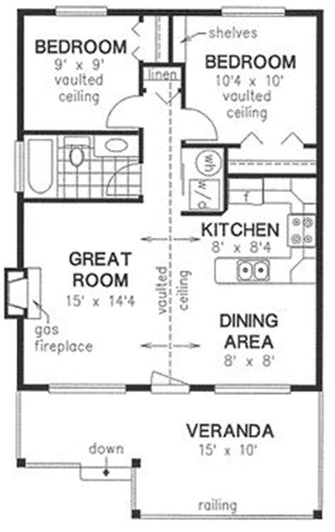 Two Bedroom House Map by 16 Ft X 20 Ft Tiny House Floor Plans
