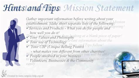 non profit mission statement exles anuvrat info