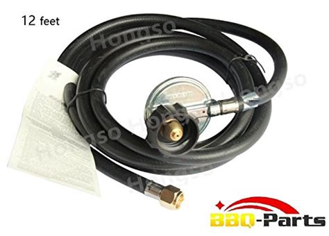 gas pit parts hongso hr12 1 12ft qcc1 hose and regulator connection kit