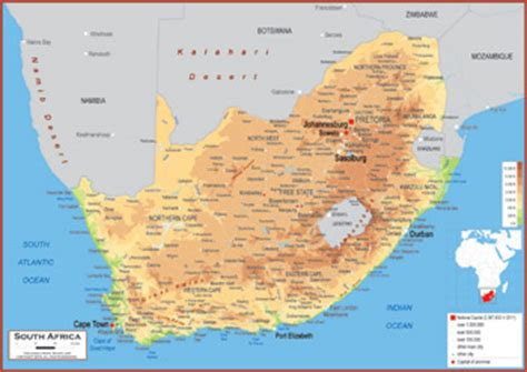 south africa physical map top abecedario punto de wallpapers