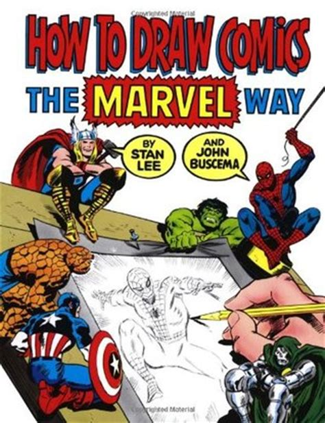 drawing on the finding my way by books how to draw comics the marvel way by stan reviews