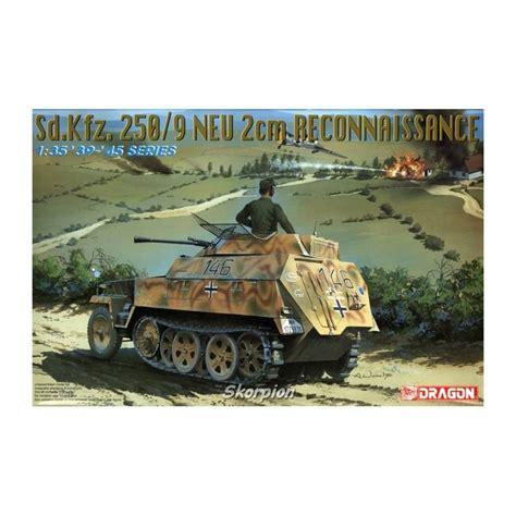 Peinture Pour Plastique 6106 by Sd Kfz 250 9 Neu 2cm Reconnaissance Dml 6106 1
