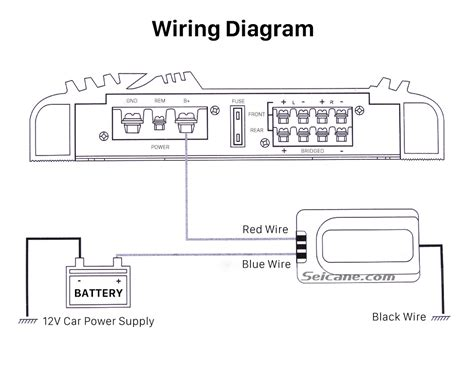 car stereo noise suppressor wiring diagram stereo