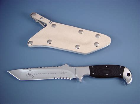 Handmade Combat Knives - quot seabee quot tactical combat utility custom knife by