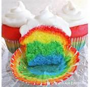 Rainbow Cupcakes…because Life Isn't Always Rainbows And Skittles