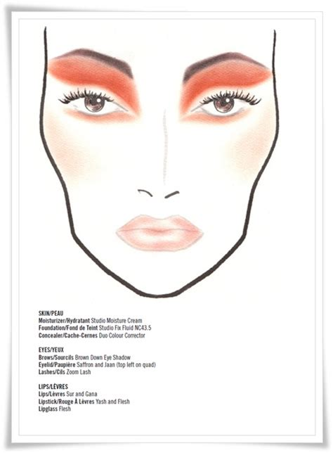 Mac Charts N Collection by Makeup Addicted Mickey Contractor For M A C Collection