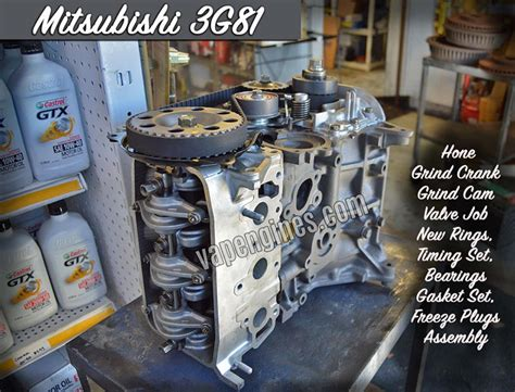 mitsubishi minicab engine mitsubishi minicab 3g81 engine rebuild machine shop
