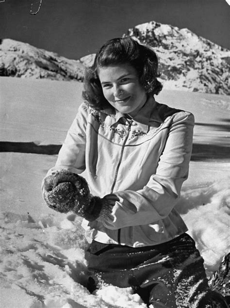 biography of film holiday actress ingrid bergman plays in the snow life magazine