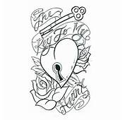 Key To My Heart Tattoo Design
