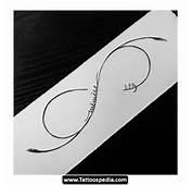 Infinity Symbol Tattoo 07 Design Idea