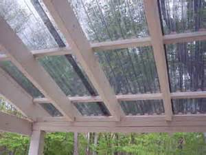 Corrugated Patio Roof