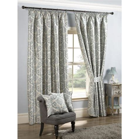buy kliving florence 90x90 duck egg teal pencil pleat curtains from our pencil pleat curtains