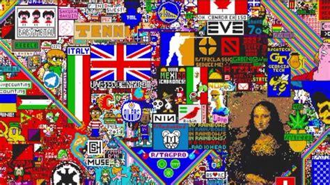 A Place Reddit Ultimate Reddit R Place Timelapse