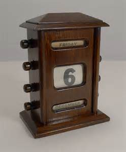 antique perpetual desk calendar antiques atlas antique english oak perpetual desk calendar