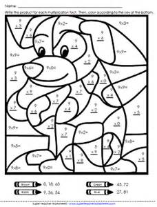 Worksheets Multiplication Coloring Puzzle Coloring PagesPrintable Math Worksheet Multiplication Color By Number sketch template