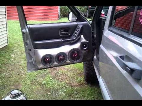 bd custom car audio door pods youtube