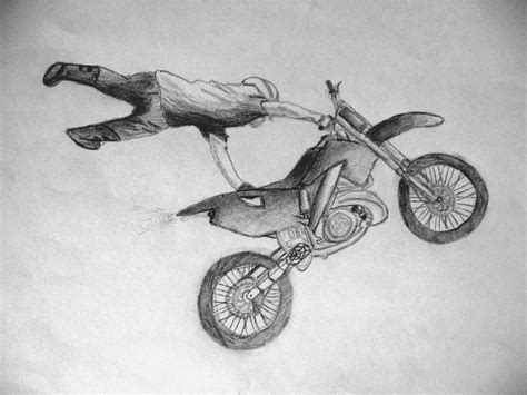 dirt bike tattoo sketch pictures to pin on pinterest