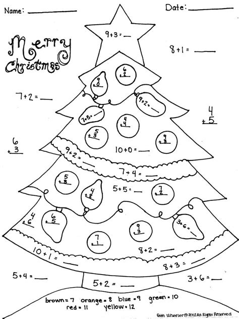 christmas coloring pages for 2nd grade 17 best images about matematika on pinterest connect the
