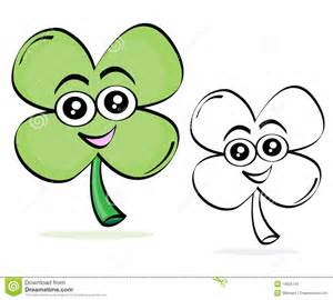 clover cartoon sketch stock photos image 18835743