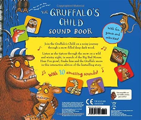 libro the gruffalos child libro the gruffalo s child sound book di julia donaldson