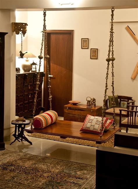 Home Decor Design India by Oonjal Wooden Swings In South Indian Homes House